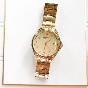 Kate Spade Gramercy Gold Tone Watch
